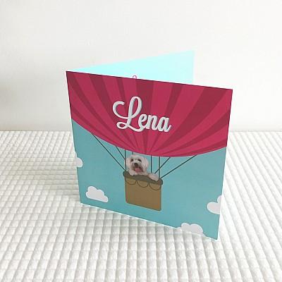 Geboortekaart Lena