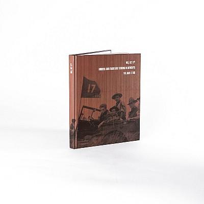 Hardcover boek 100jaar scouting