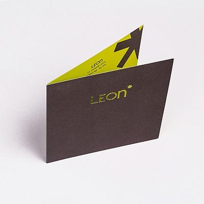 Geboortekaart Leon