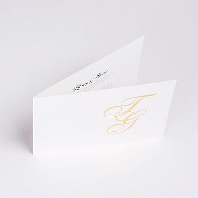 Trouwkaart Tiffany & Geert